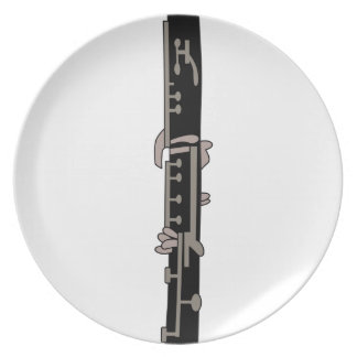 Clarinet Party Plates