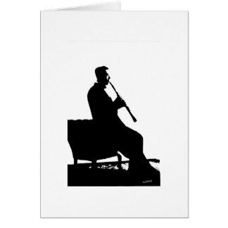 Clarinet Player Card