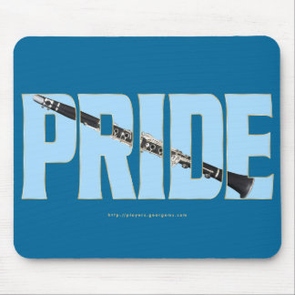 Clarinet Pride Mouse Pad