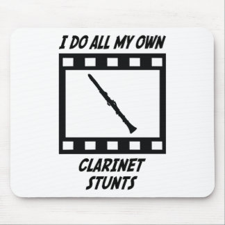 Clarinet Stunts Mouse Pads