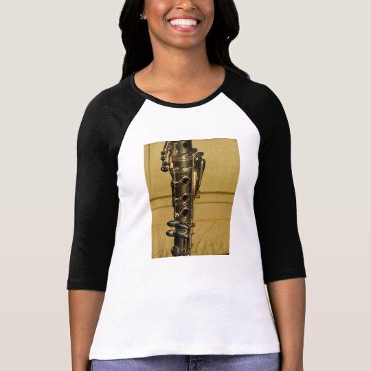 Clarinet Sunset ladies' raglan shirt