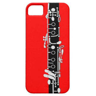Clarinet With Red iPhone 5 Cases