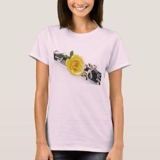 Clarinet Yellow Rose Flower Shirt