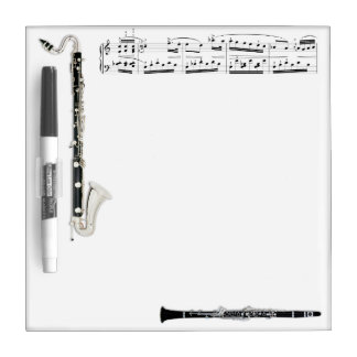 Clarinets Dry Erase Board