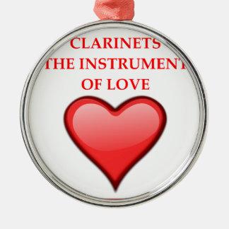 CLARINETS METAL ORNAMENT