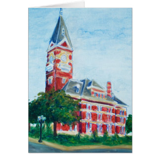 Clarion Courthouse Card