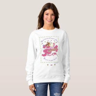 Clarisse ballerina women's sweatshirt