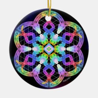 Clarity/Deep Peace Ceramic Ornament
