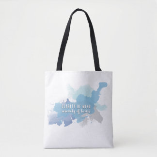 Clarity & Serenity | A Tote for Heart Soul Mind