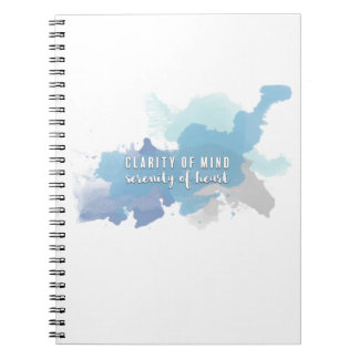 Clarity & Serenity | Notebook for Heart Soul Mind