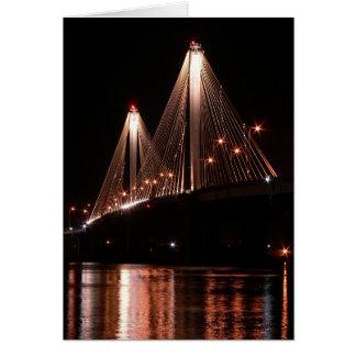 Clark Bridge, Alton, Illinois Card