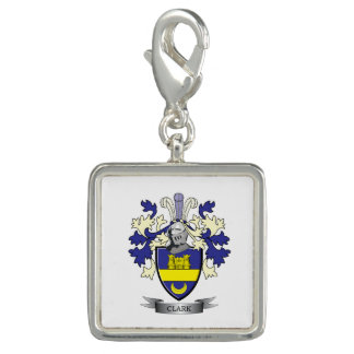 Clark Family Crest Coat of Arms Charms
