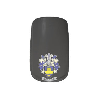 Clark Family Crest Coat of Arms Nail Stickers