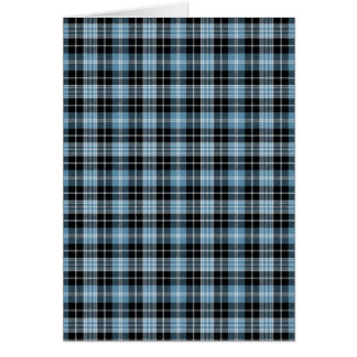 Clark Family Tartan Plaid Card