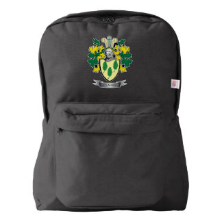 Clarke Coat of Arms Backpack