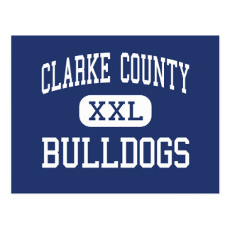 Clarke County - Bulldogs - High - Grove Hill Postcard