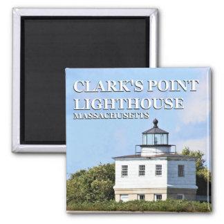 Clark's Point Lighthouse, Massachusetts Magnet