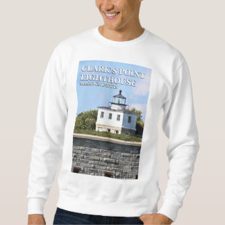 Clark's Point Lighthouse, Massachusetts Sweatshirt