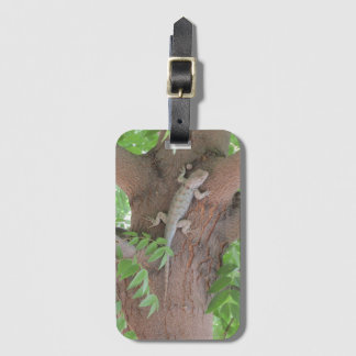 Clark's Spiny Lizard in a Tree Luggage Tag