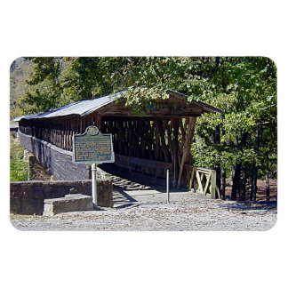 "Clarkson–Legg Covered Bridge 4""x 6"" Photo Magnet"