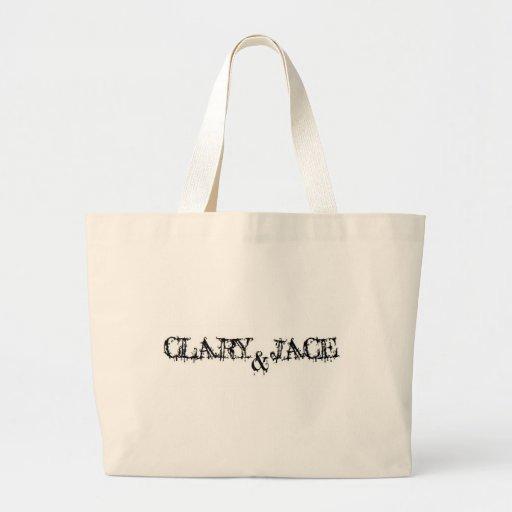Clary and Jace Canvas Bag