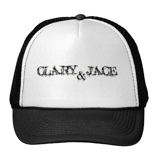 Clary and Jace Mesh Hats