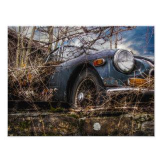 Clasic Car Photographic Print