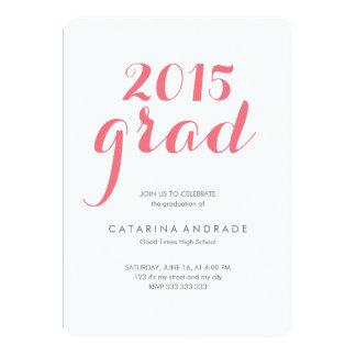 Class 2015 Photo Graduation High School Script Card