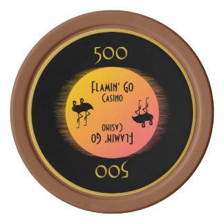 Class Act Flamingo Poker Chip Sets
