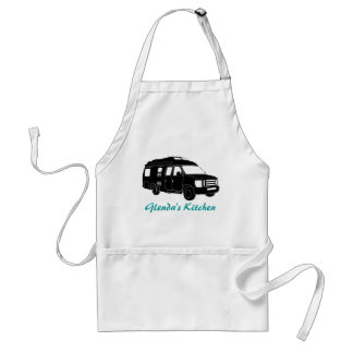Class B Motorhome / Camper Van Silhouette Graphic Standard Apron