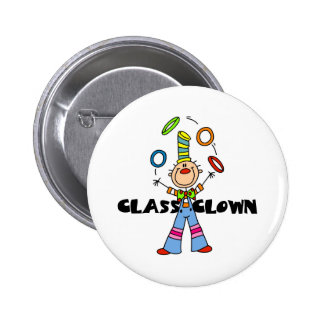 Class Clown 2 Inch Round Button