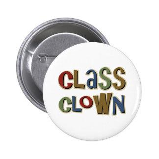 Class Clown Button