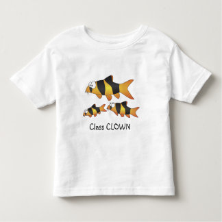 Class clown - Cool fish (Clown loach family) Toddler T-shirt