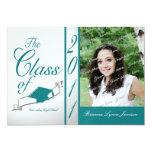 Class Graduation 2011/ Teal Invitations