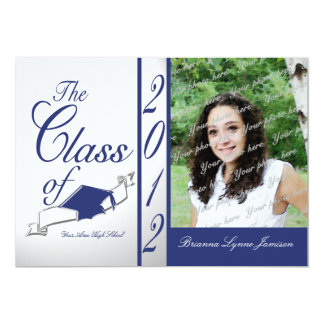 Class Graduation 2012/ Blue Announcements