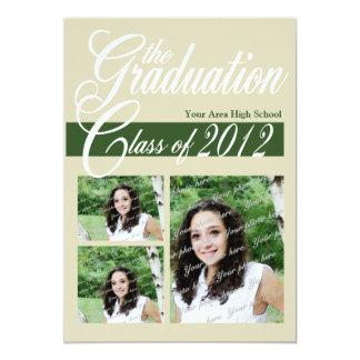Class Graduation 2012/ Dark Green Announcement