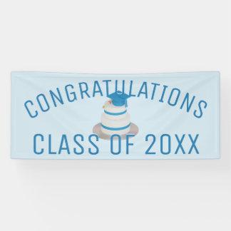 Class Graduation Cake Congratulations Banner