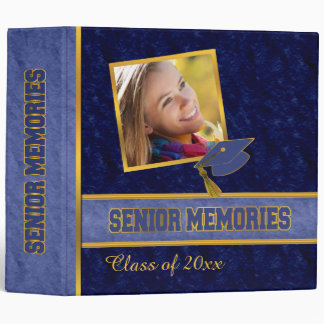 Class Graduation Senior Memories 3 Ring Binders