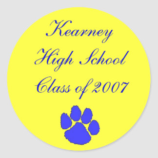 Class of 2007, Kearney High School sticker