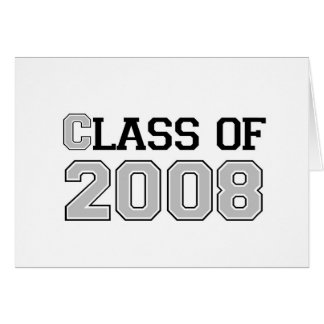 Class of 2008 Silver Card