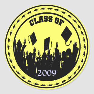 Class of 2009/2010 You Choose Year- Sticker Color