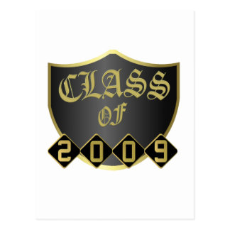 Class of 2009 Custom Postage Stamp Postcard