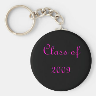 Class of 2009 keychain