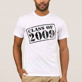 CLASS OF 2009 Stamped - t-shirt