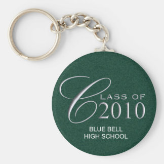 Class of 2010 Graduation Custom Key Ring