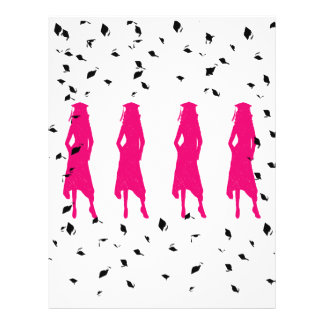 Class of 2010 Pink Silhouettes Flyer