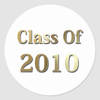 Class Of 2010 Stickers