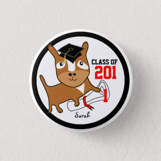 Class of 2011 Add Name Button Dog 1