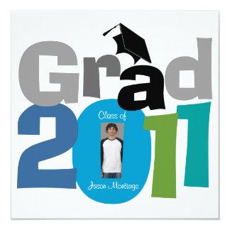Class Of 2011 Graduation Invitation CAP180