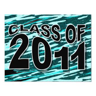 Class of 2011 Graduation Invitation FTX333 Zebra